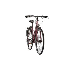 Kalkhoff Jubilee 24 - Vélo de ville Femme - Trapez rouge